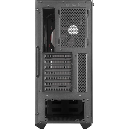 Cooler Master MasterBox MB520 TG Computer Case - ATX, Micro ATX, Mini ITX Motherboard Supported - Mid-tower - Steel, Plastic, Tempered Glass - Red