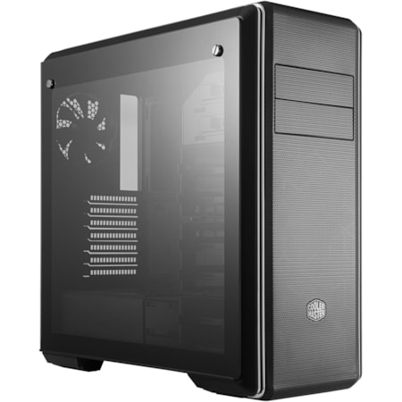 Cooler Master MasterBox MCB-CM694-KG5N-S00 Computer Case - Mini ITX, Micro ATX, ATX, EATX Motherboard Supported - Mid-tower - Steel, Plastic, Tempered Glass, Mesh - Black