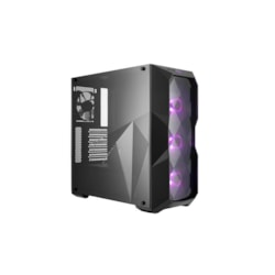Cooler Master MasterBox TD500 Computer Case - ATX, Micro ATX, Mini ITX Motherboard Supported - Mid-tower - Steel, Plastic, Transparent - Black - 5.75 kg