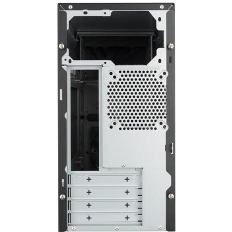 Cooler Master MasterBox E300L Computer Case - Micro ATX, Mini ITX Motherboard Supported - Mini-tower - Steel, Plastic - Silver