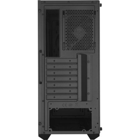 Cooler Master MasterBox MCB-K501L-KANN-S00 Gaming Computer Case - ATX, Micro ATX, Mini ITX Motherboard Supported - Mid-tower - Plastic, Acrylic - Black