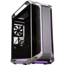 Cooler Master Cosmos C700M Computer Case - Mini ITX, Micro ATX, ATX, EATX Motherboard Supported - Full-tower - Steel, Tempered Glass - Silver, Black