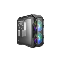 Cooler Master MasterCase H500M Computer Case - Mini ITX, Micro ATX, ATX, EATX Motherboard Supported - Mid-tower - Steel, Tempered Glass, Mesh - Iron Grey