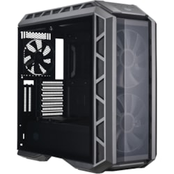 Cooler Master MasterCase MCM-H500P-MGNN-S00 Computer Case - ATX, Micro ATX, Mini ITX, EATX Motherboard Supported - Mid-tower - Plastic, Mesh, Steel, Tempered Glass - Gunmetal Black