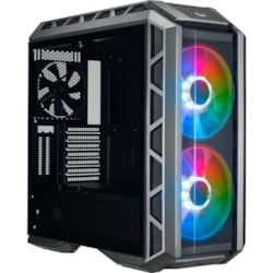 Cooler Master MasterCase MCM-H500P-MGNN-S01 Computer Case - Mini ITX, Micro ATX, ATX, EATX Motherboard Supported - Mid-tower - Steel, Plastic, Mesh, Tempered Glass - Gunmetal Black - 11.30 kg