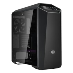 Cooler Master MasterCase MCM-M500M-KG5N-S00 Computer Case - Micro ATX, Mini ITX, EATX, ATX Motherboard Supported - Mid-tower - Steel, Plastic, Tempered Glass - Dark Metallic Gray, Black - 13.10 kg