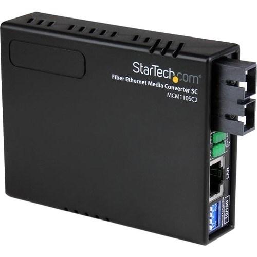 StarTech.com MCM110SC2 Transceiver/Media Converter