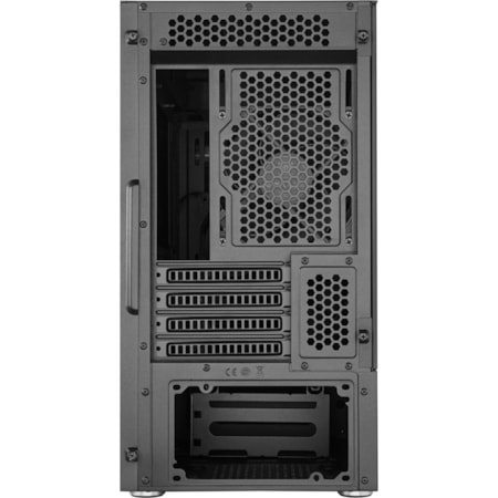 Cooler Master Silencio MCS-S400-KG5N-S00 Computer Case - Mini ITX, Micro ATX Motherboard Supported - Mini-tower - Steel, Plastic, Tempered Glass - Black