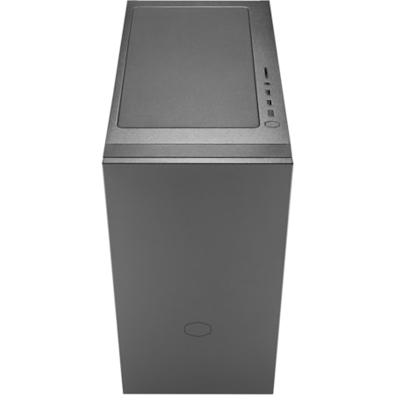 Cooler Master Silencio S400 Computer Case - Mini ITX, Micro ATX, ATX Motherboard Supported - Midi Tower - Steel, Plastic - Black - 7.03 kg