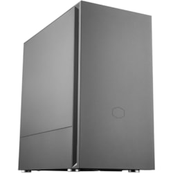 Cooler Master Silencio S400 Computer Case - Mini ITX, Micro ATX, ATX Motherboard Supported - Midi Tower - Steel, Plastic - Black - 7.03 kg