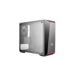 Cooler Master MasterBox Lite 3.1 TG MCW-L3S3-KGNN-00 Computer Case - Micro ATX, Mini ITX Motherboard Supported - Mini-tower - Steel, Plastic, Tempered Glass - Black - 4.10 kg