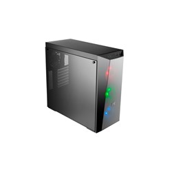 Cooler Master MasterBox Lite 5 MCW-L5S3-KGNN-02 Computer Case - ATX, Mini ITX, Micro ATX Motherboard Supported - Mid-tower - Steel, Plastic, Tempered Glass - Black
