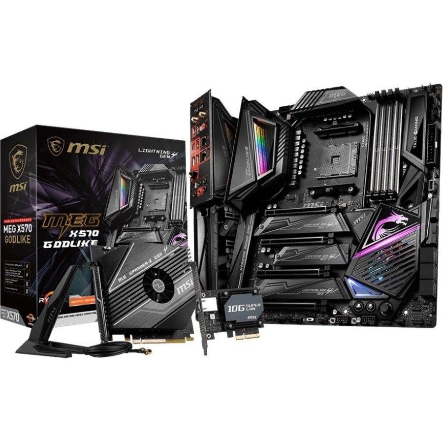 MSI MEG X570 GODLIKE Desktop Motherboard - AMD Chipset - Socket AM4