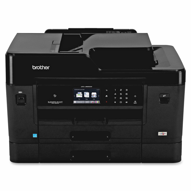 Brother Business Smart MFC-J6930DW Inkjet Multifunction Printer - Colour - Plain Paper Print - Desktop