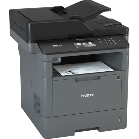 Brother MFCL5755DW Laser Multifunction Printer - Monochrome - Plain Paper Print - Desktop