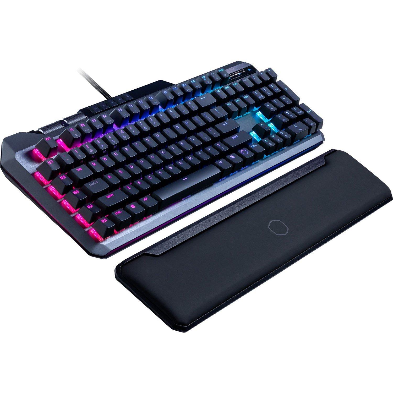 Cooler Master Masterkeys MK850 RGB Mechanical Keyboard , Aimpad Tech, Cherry Red Switch