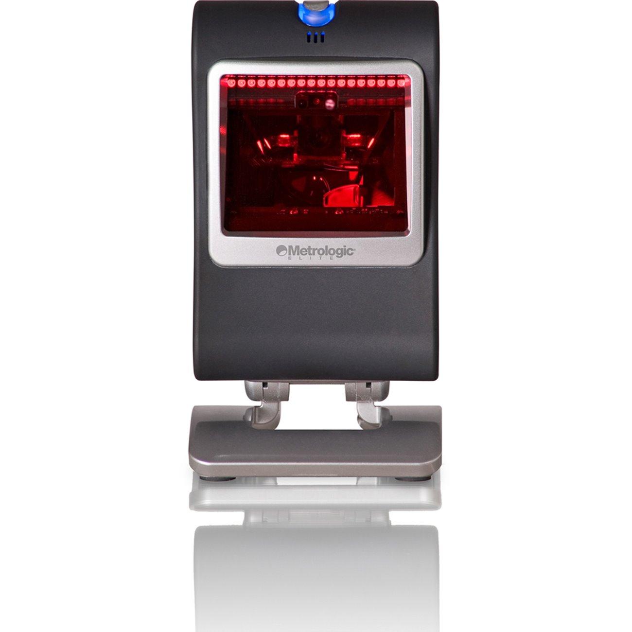 Honeywell Genesis MS7580 Desktop Barcode Scanner - Cable Connectivity - Dark Grey