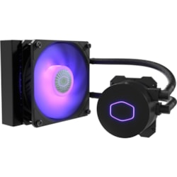 Cooler Master MasterLiquid ML120L V2 RGBCooling Fan/Radiator/Water Block - Motherboard
