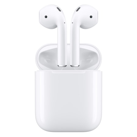Apple AirPods Wireless Bluetooth Stereo Earset - Earbud - In-ear