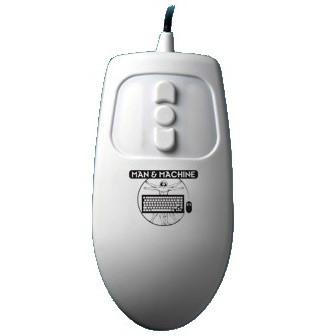 Man & Machine Mouse - White