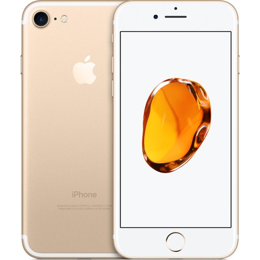 "Apple iPhone 7 32 GB Smartphone - 11.9 cm (4.7"") LCD HD 1334 x 750 - 2 GB RAM - iOS 10 - 4G - Gold"