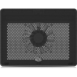 Cooler Master NotePal MNW-SWTS-14FN-R1 Cooling Stand - Upto 431.80 mm Screen Size Notebook Support - Black