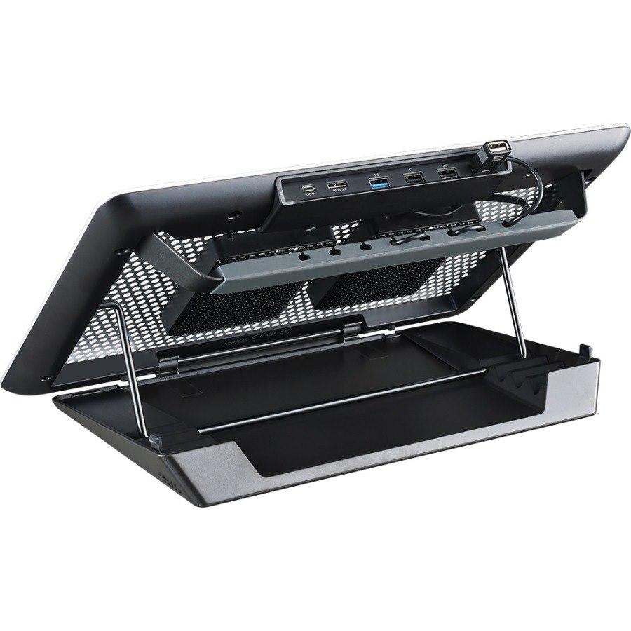 Cooler Master MasterNotepal Maker MNY-SMTS-20FY-R1 Cooling Stand - Silver, Black