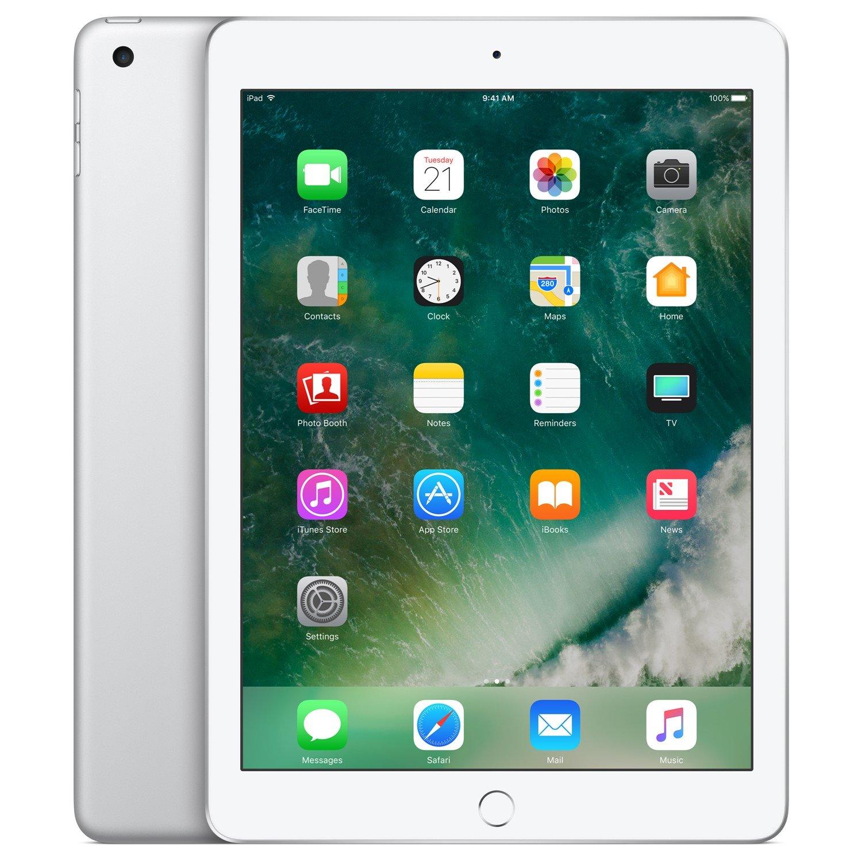"Apple iPad Tablet - 24.6 cm (9.7"") - 128 GB Storage - Silver"