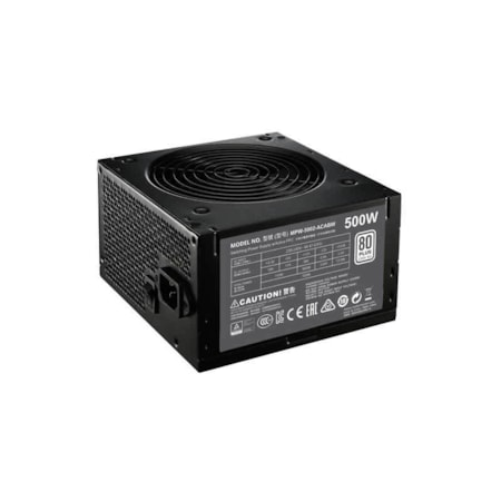 Cooler Master MPW-5002-ACABW ATX12V/EPS12V Power Supply - 85% Efficiency - 500 W