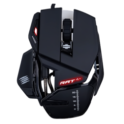 Mad Catz R.A.T. 4+ Gaming Mouse - USB 2.0 - PixArt PMW3330 - Black