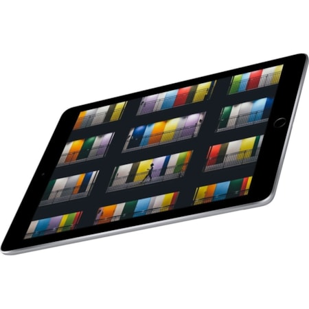 """Apple iPad Tablet - 24.6 cm (9.7"""") - Apple A10 Quad-core (4 Core) - 32 GB - iOS 11 - 2048 x 1536 - Retina Display, In-plane Switching (IPS) Technology - Space Gray"""