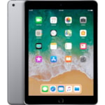 """Apple iPad Tablet - 24.6 cm (9.7"""") - Apple A10 - ARM Hurricane Dual-core (2 Core) 2.34 GHz, TSMC Zephyr Dual-core (2 Core) - 32 GB - iOS 11 - 2048 x 1536 - Retina Display, In-plane Switching (IPS) Technology - Space Gray"""
