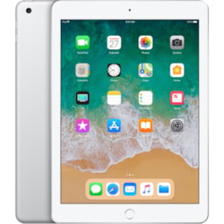 """Apple iPad Tablet - 24.6 cm (9.7"""") - Apple A10 - ARM Hurricane Dual-core (2 Core) 2.34 GHz, TSMC Zephyr Dual-core (2 Core) - 32 GB - iOS 11 - 2048 x 1536 - Retina Display, In-plane Switching (IPS) Technology - Silver"""