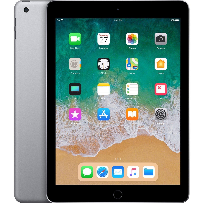 "Apple iPad Tablet - 24.6 cm (9.7"") - 128 GB Storage - iOS 11 - Space Gray"