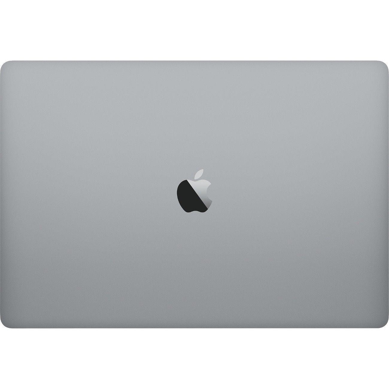 "Apple MacBook Pro MR932X/A 39.1 cm (15.4"") LCD Notebook - Intel Core i7 (8th Gen) Hexa-core (6 Core) 2.20 GHz - 16 GB DDR4 SDRAM - 256 GB SSD - Mac OS High Sierra - 2880 x 1800 - Retina Display, In-plane Switching (IPS) Technology, True Tone technology - Space Gray"