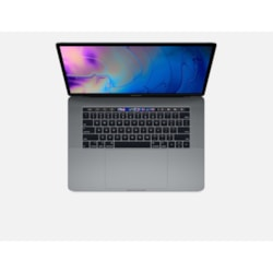 "Apple MacBook Pro MR932X/A 39.1 cm (15.4"") LCD Notebook - Intel Core i7 (8th Gen) Hexa-core (6 Core) 2.20 GHz - 16 GB DDR4 SDRAM - 256 GB SSD - Mac OS High Sierra - 2880 x 1800 - Retina Display, In-plane Switching (IPS) Technology, True Tone technology - Space Gray"