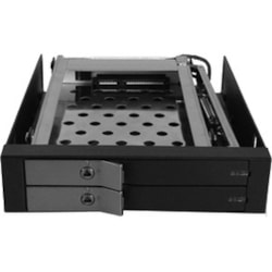 Vantec EZ Swap EVO MRK-225S6-BK Drive Enclosure Internal - Black