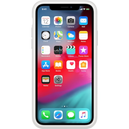 Apple Case for Apple iPhone Xs - White
