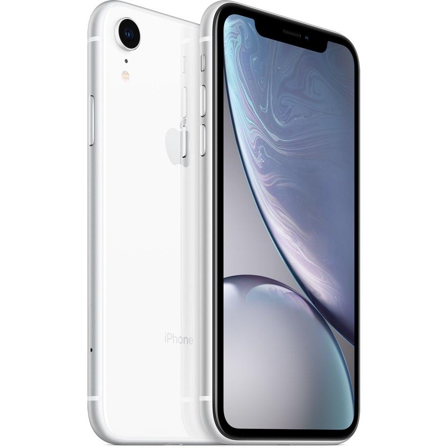 "Apple iPhone XR A2105 64 GB Smartphone - 15.5 cm (6.1"") LCD1792 x 828 - 3 GB RAM - iOS 12 - 4G - White"
