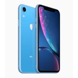 "Apple iPhone XR A2105 64 GB Smartphone - 15.5 cm (6.1"") LCD1792 x 828 - 3 GB RAM - iOS 12 - 4G - Blue"