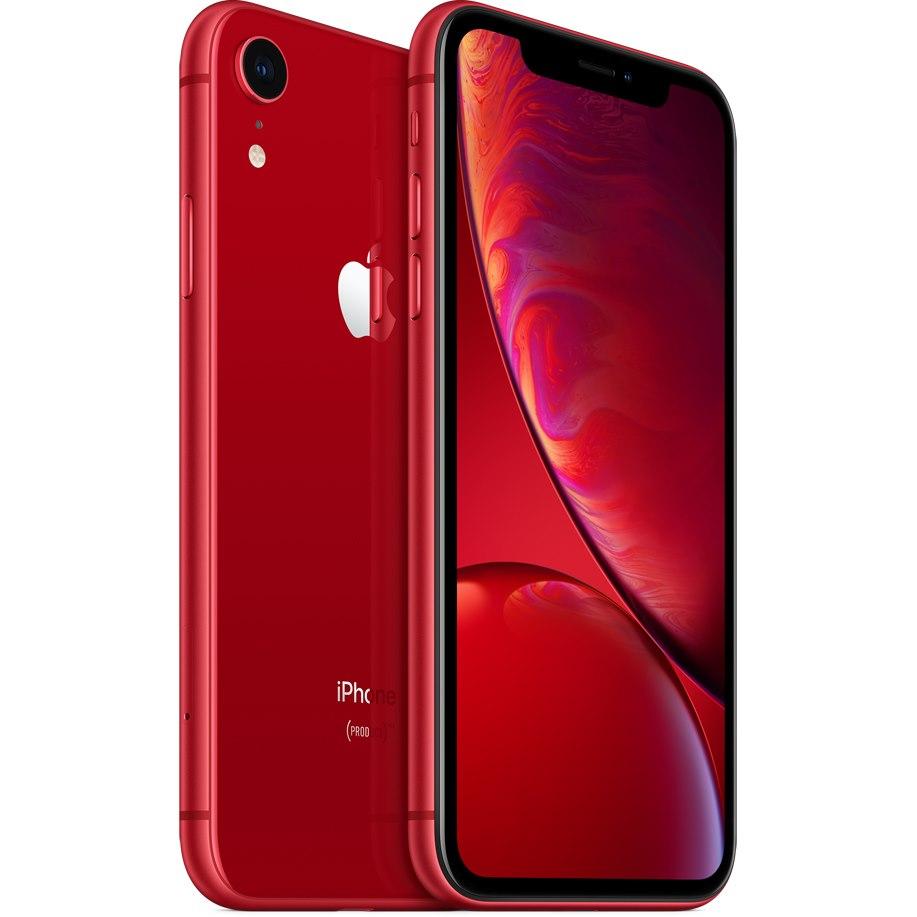 "Apple iPhone XR A2105 128 GB Smartphone - 15.5 cm (6.1"") LCD1792 x 828 - 3 GB RAM - iOS 12 - 4G - Red"