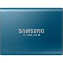 Samsung T5 MU-PA500B/WW 500 GB Portable Solid State Drive - External - Blue