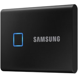 Samsung T7 MU-PC2T0K/WW 2 TB Portable Solid State Drive - External - PCI Express NVMe - Black