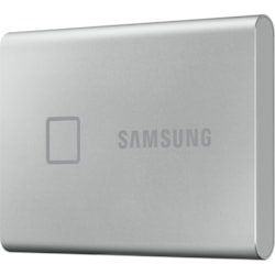 Samsung T7 MU-PC500S/WW 500 GB Portable Solid State Drive - External - PCI Express NVMe - Silver