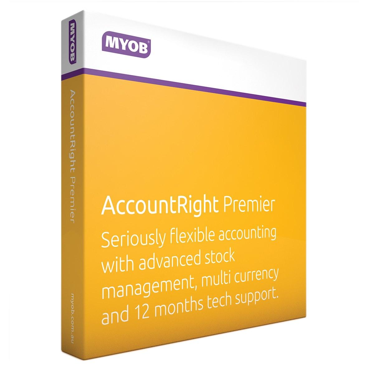 MYOB AccountRight v.19.0 Premier