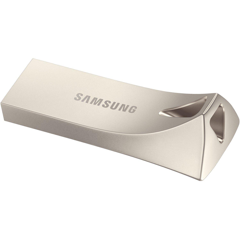 Samsung BAR Plus 128 GB USB 3.1 Type A Flash Drive - Silver
