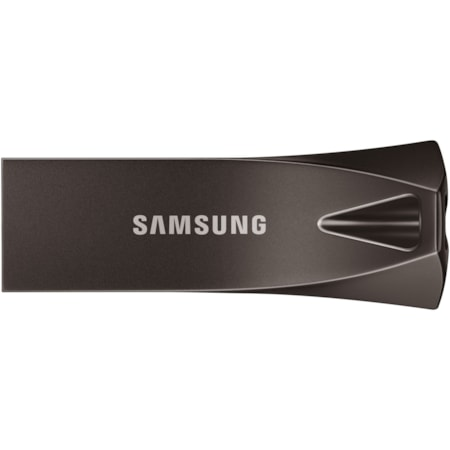 Samsung BAR Plus 64 GB USB 3.1 Type A Flash Drive - Silver