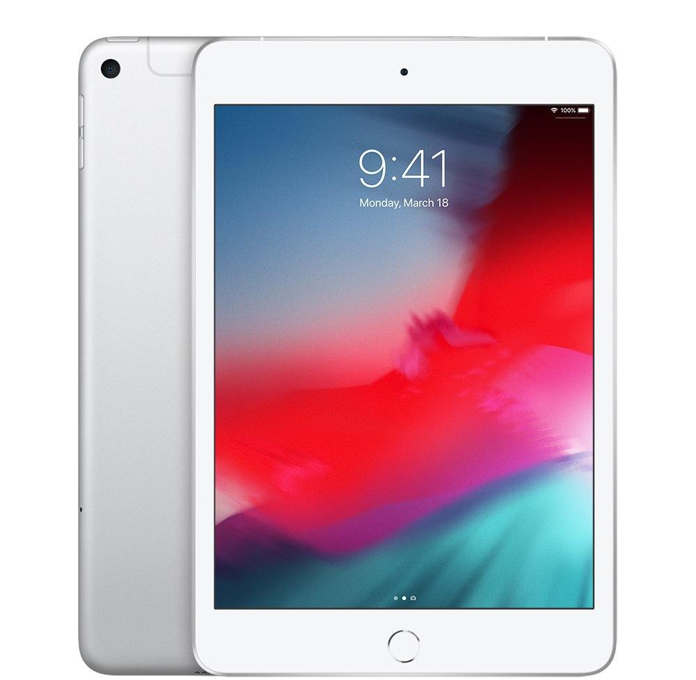 "Apple iPad mini (5th Generation) Tablet - 20.1 cm (7.9"") - 64 GB Storage - 4G - Silver"