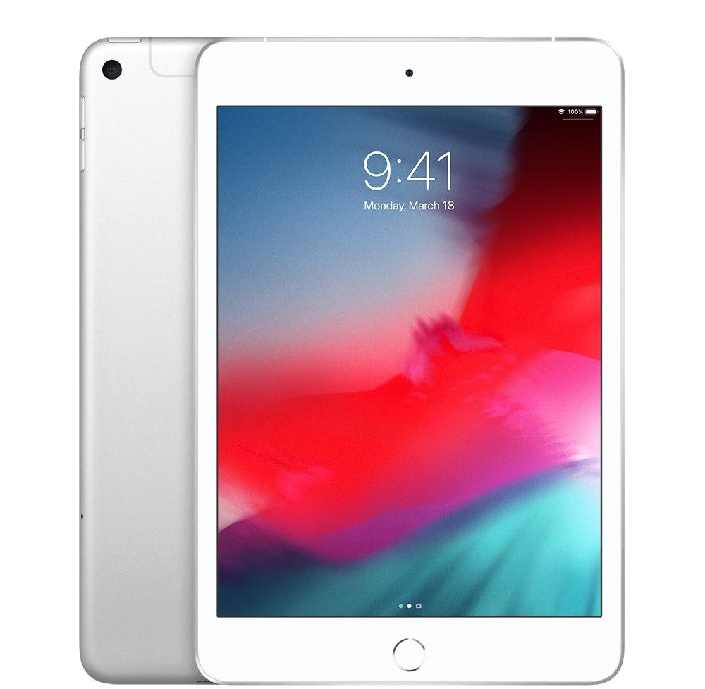 "Apple iPad mini (5th Generation) Tablet - 20.1 cm (7.9"") - 256 GB Storage - iOS 12 - 4G - Silver"
