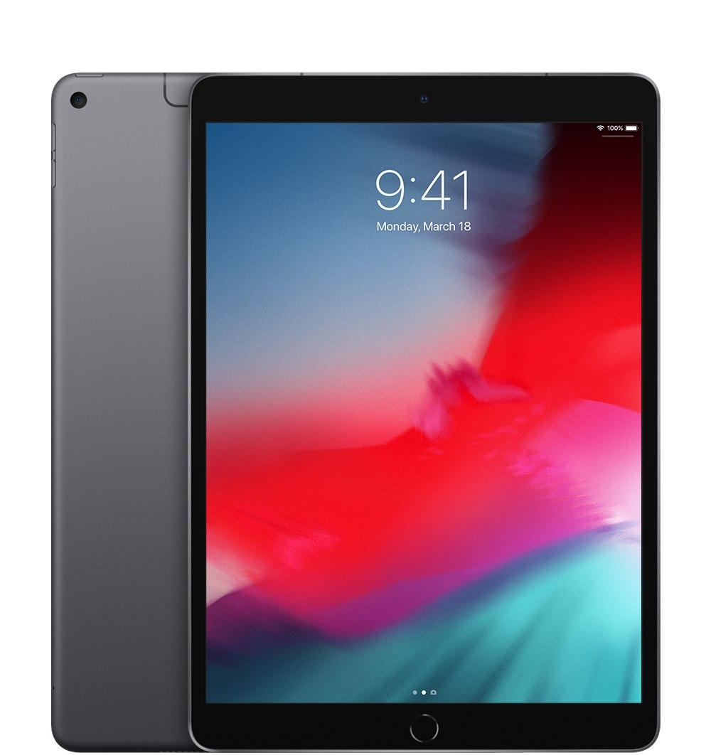 "Apple iPad Air (3rd Generation) Tablet - 26.7 cm (10.5"") - 256 GB Storage - 4G - Space Gray"